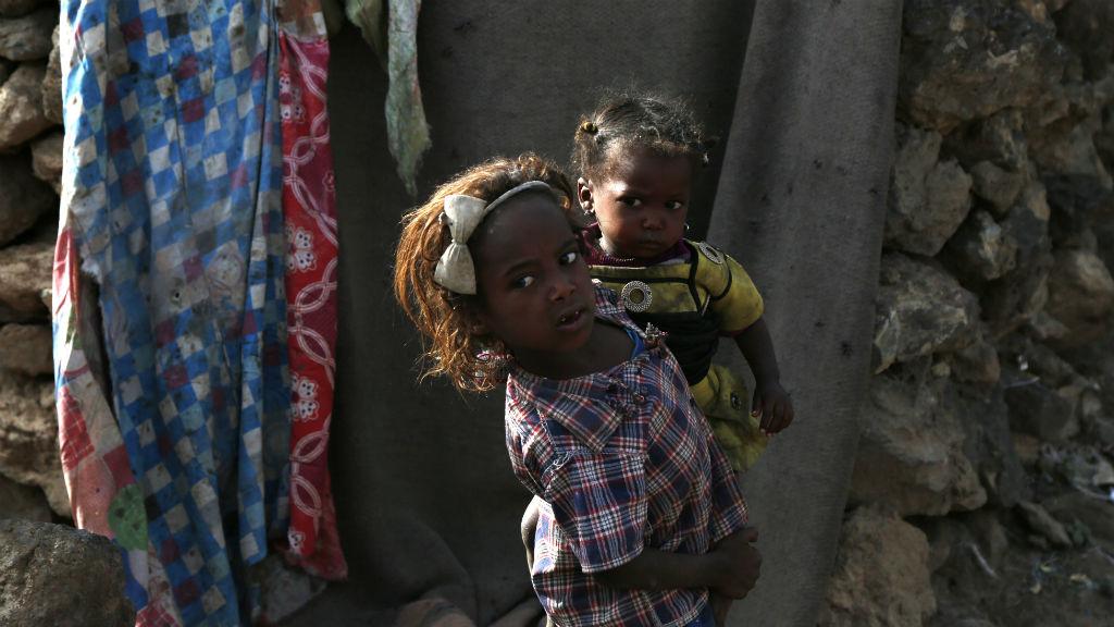 jemen gyerekek
