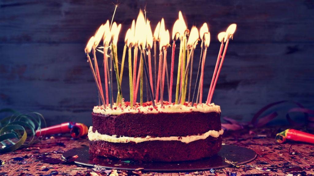 születésnap torta