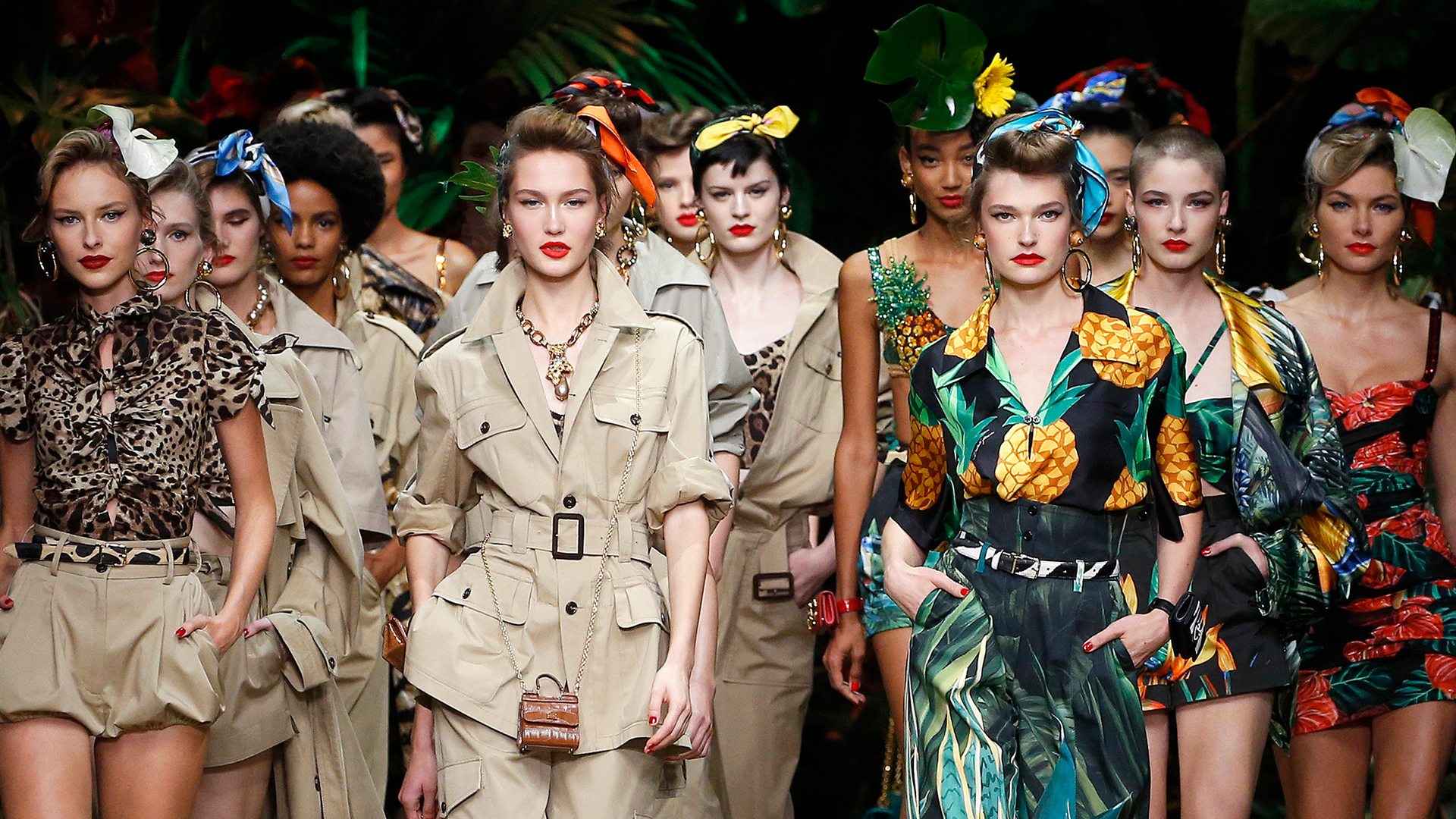 Milánói Divathét 2020 tavasz-nyár Dolce&Gabbana