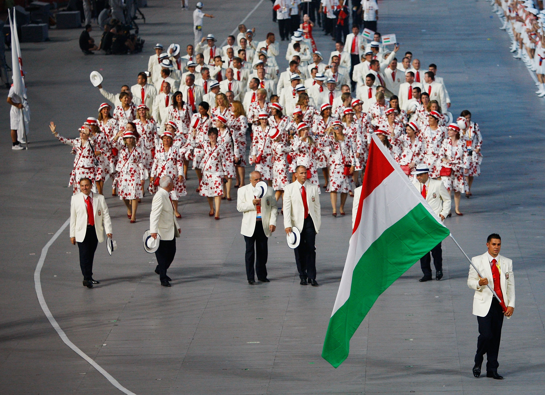 peking 2008 olimpia magyar csapat formaruha