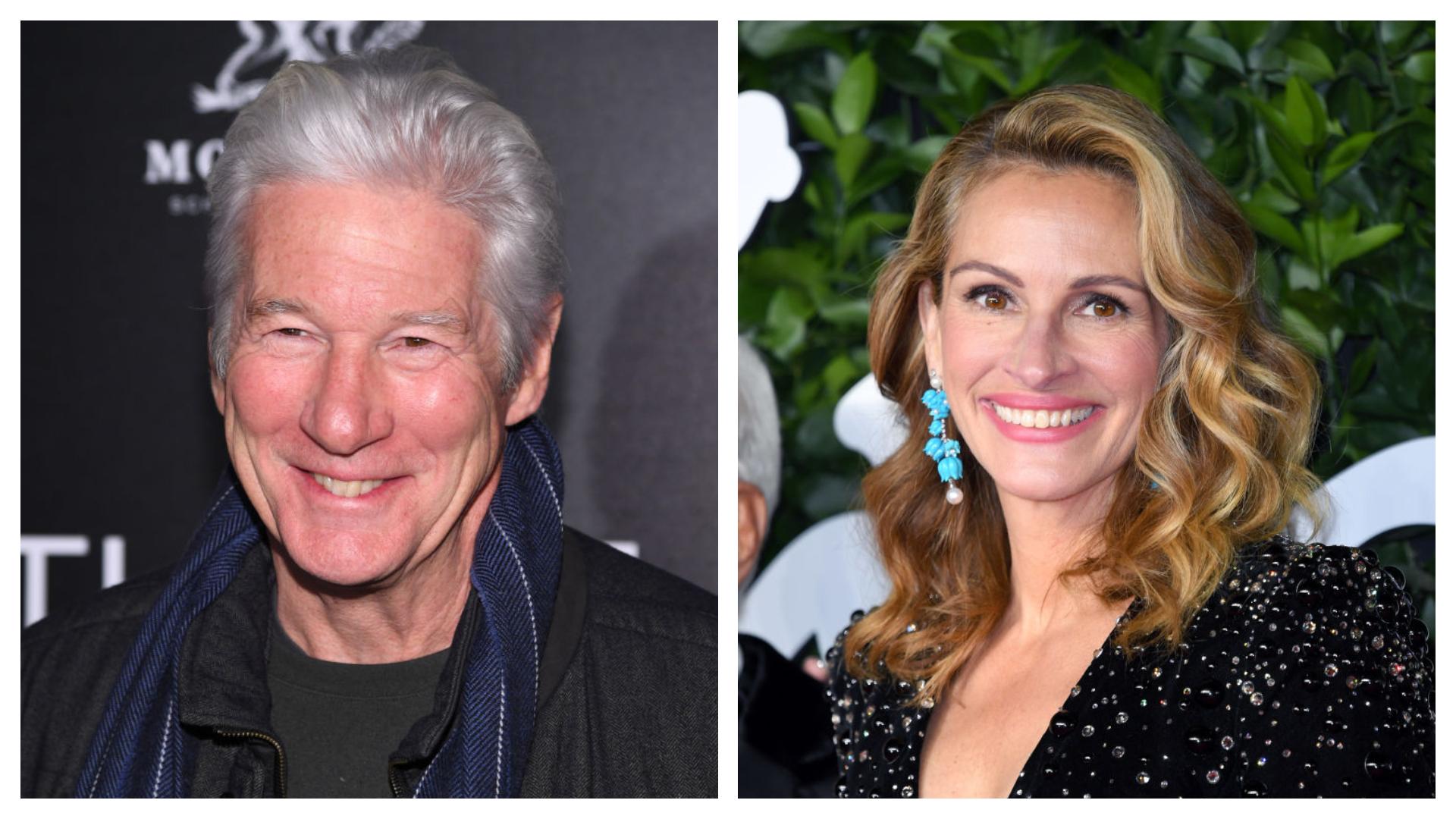 Richarde Gere ma már inkább joviális nagypapának néz ki, Julia Roberts viszont ragyog. (Fotók: Getty Images)
