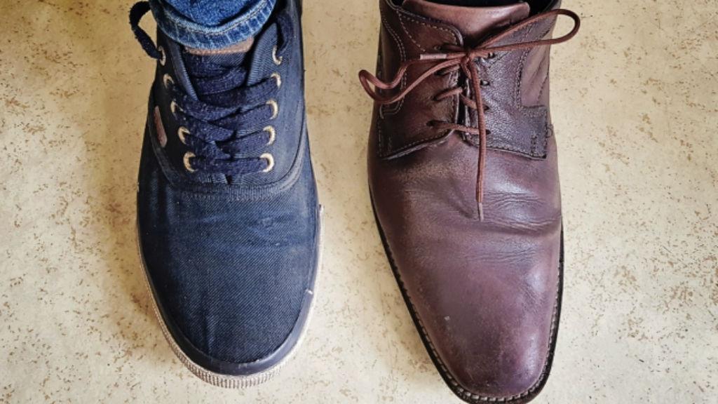 jobblábas cipő lopás