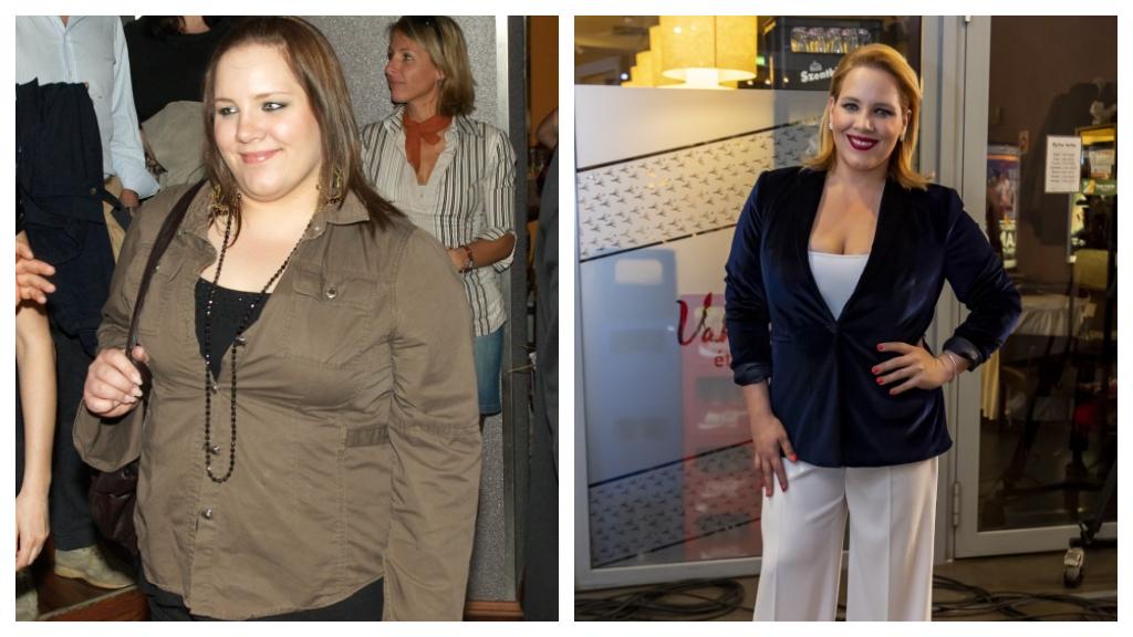 Tóth Verának egy gyomorműtét hozott tartós megoldást. Ragyogóan néz ki az énekesnő. (Fotók: smag)
