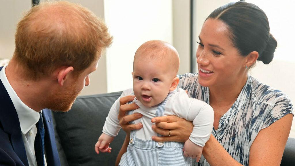 Meghan hercegné Harry herceg Archie