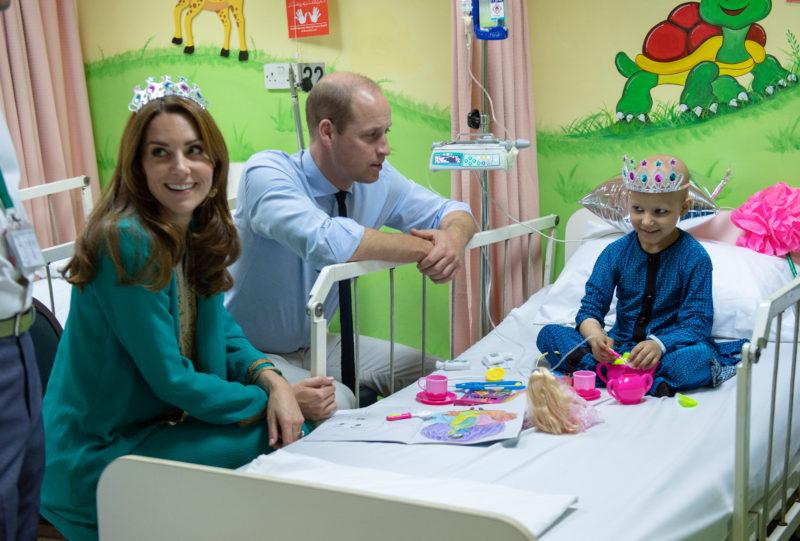 Katalin hercegné Vilmos herceg pakisztán kórház