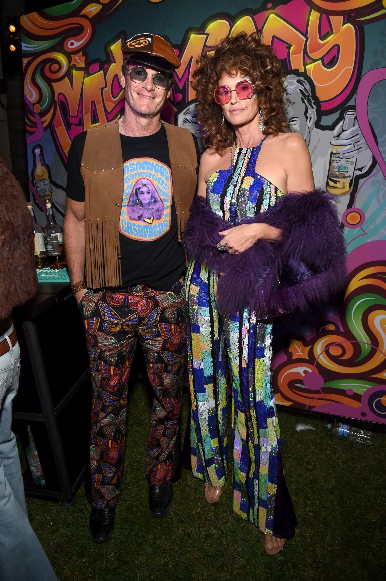 Cindy Crawford és Rande Gerber a Casamigos halloweeni buliján 2019