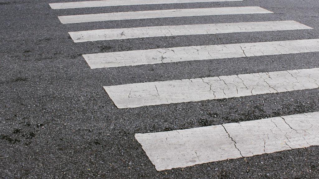 zebra gyalogátkelő