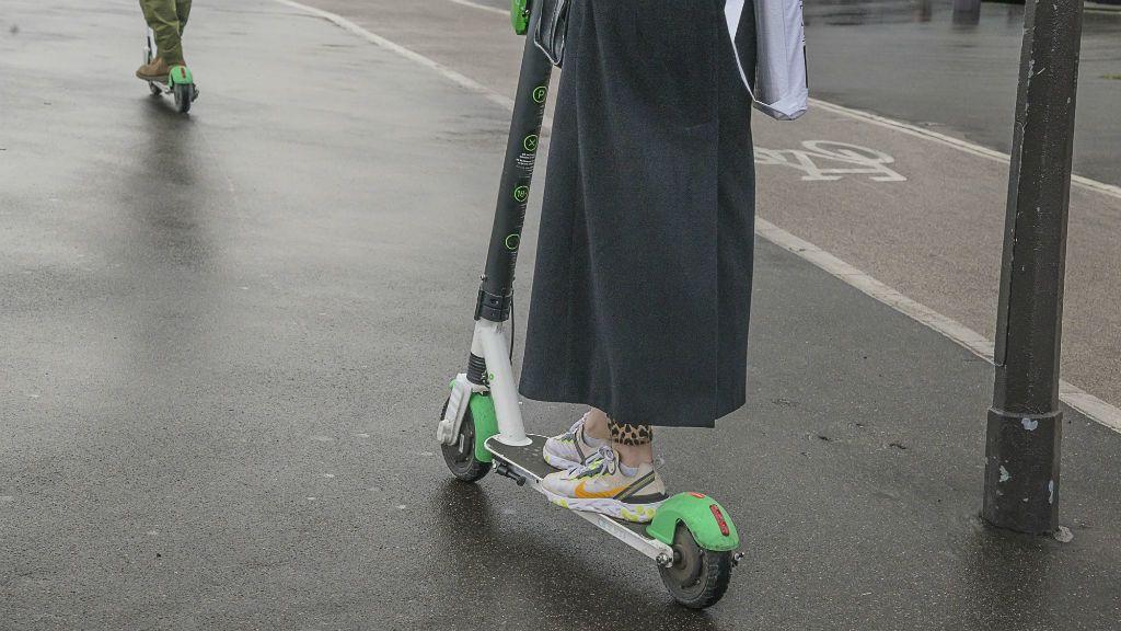 elektromos roller közlekedés