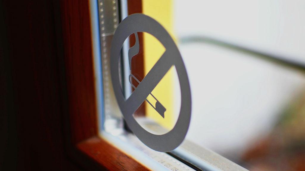 dohányzás tilos