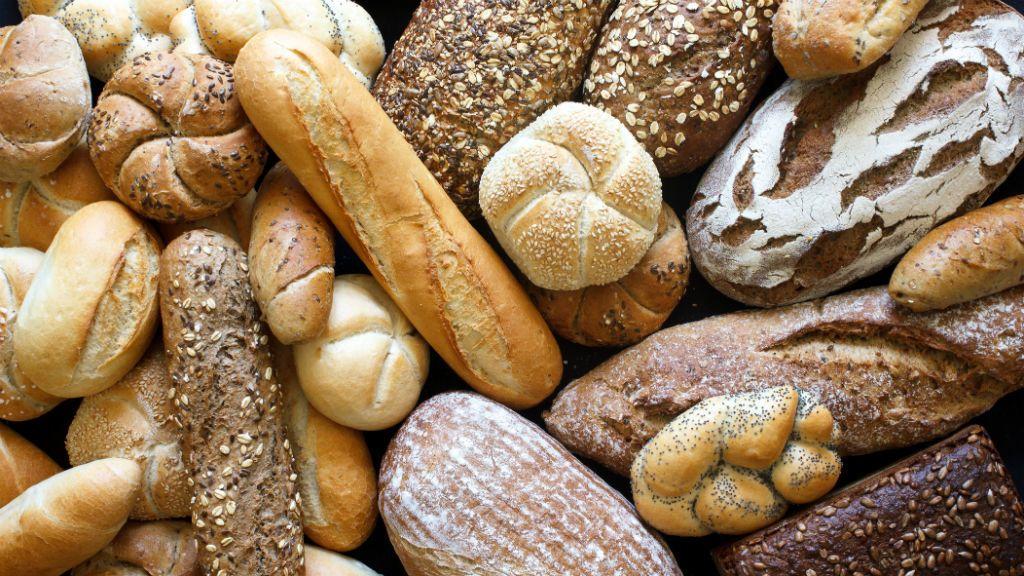 pékáru kenyér zsemle