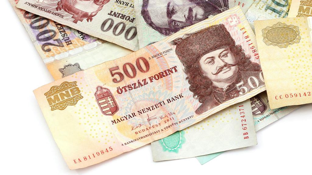forint bankjegy ötszázas pénz