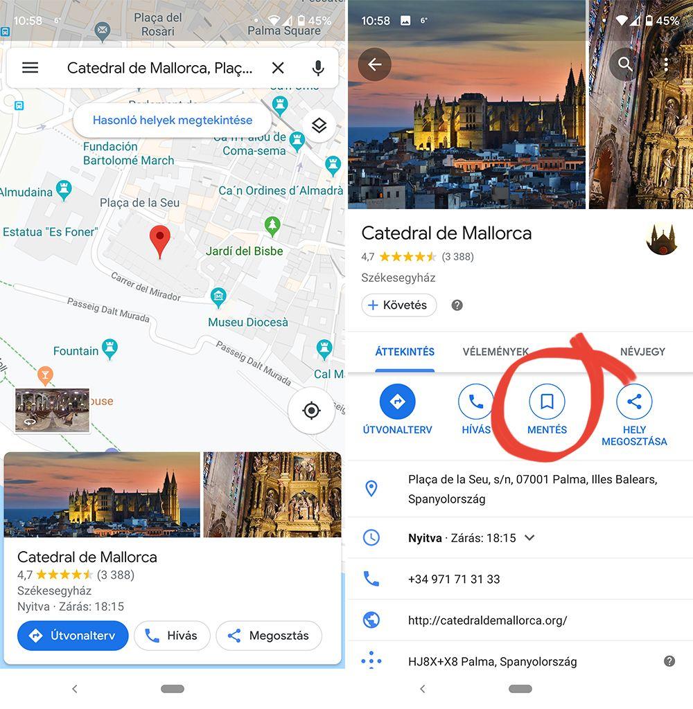 mallorca with google