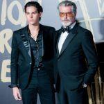 Paris Brosnan és édesapja, Pierce Brosnan