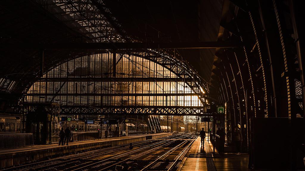 utazás, állomás, pályaudvar