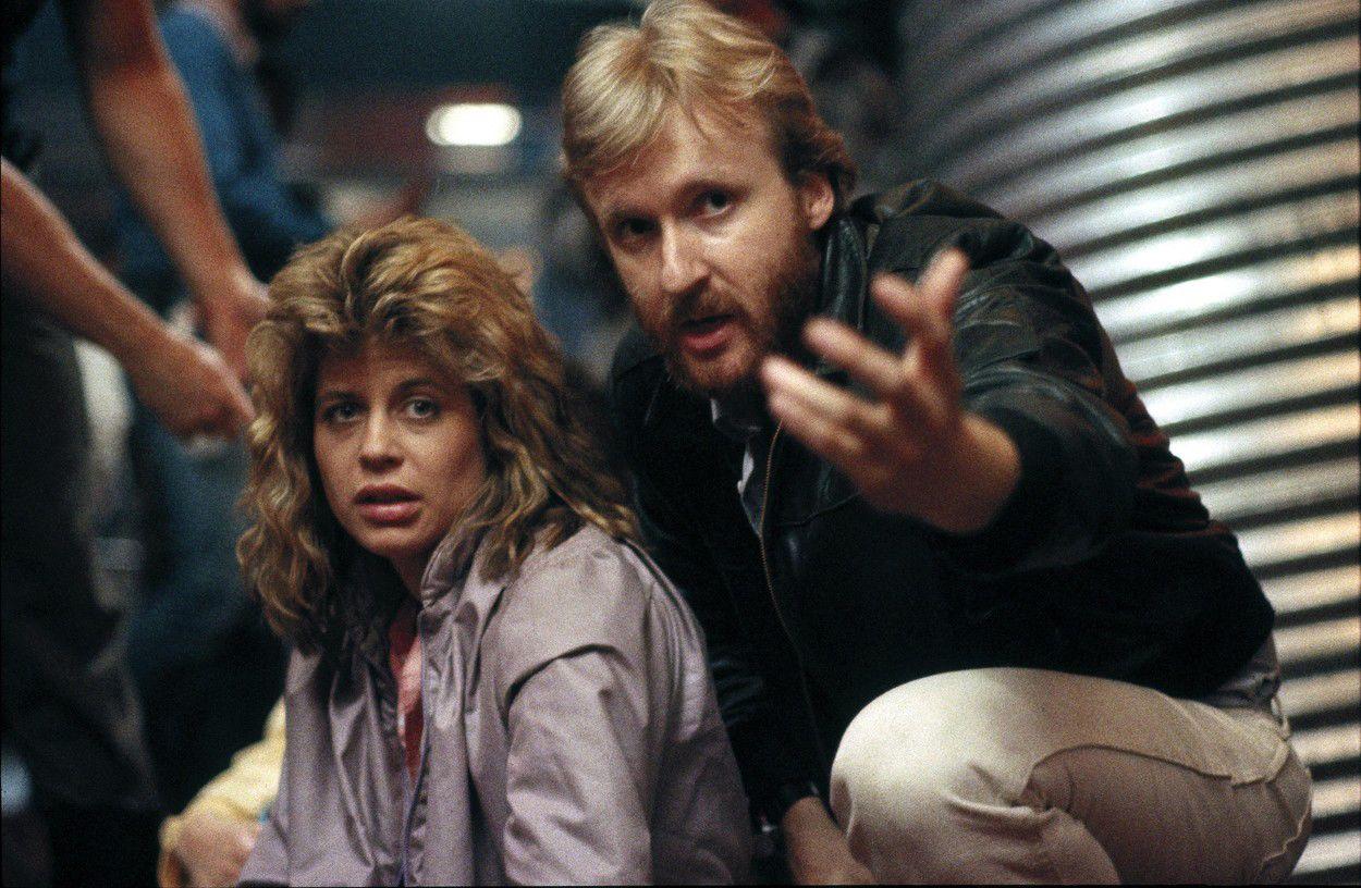 Linda Hamilton és James Cameron 1984-ben - fotó: Profimedia