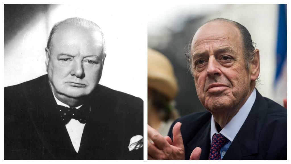 Nicholas Soames, Winston Churchill unokája is politikus.