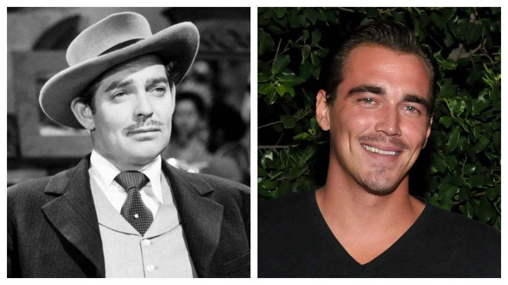 Clark Gable unokája szakasztott mása a nagypapának. (Fotók: AFP, Wikipedia)