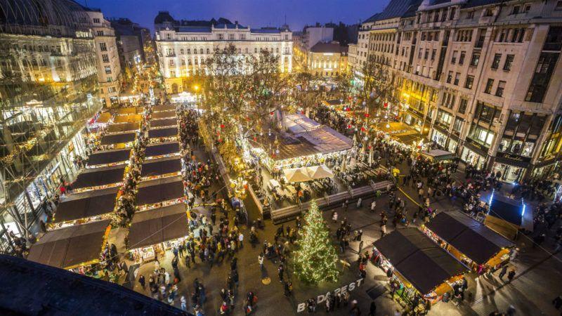 Vörösmarty tér karácsonyi vásár