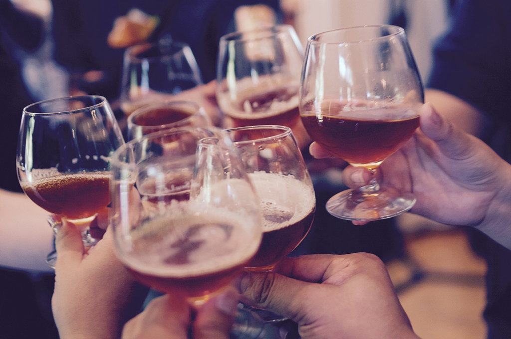 száraz november, alkohol, bor