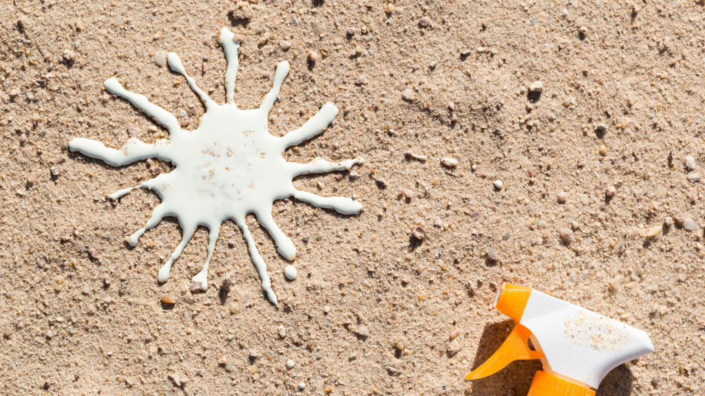 napvédő naptej