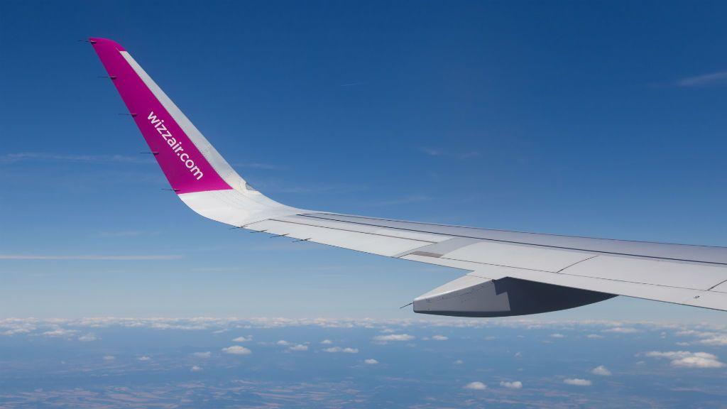 wizzair repülőgép utazás repülés
