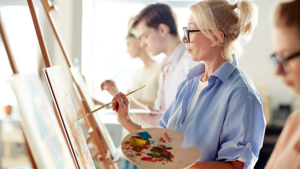 művészet festészet festés szakkör