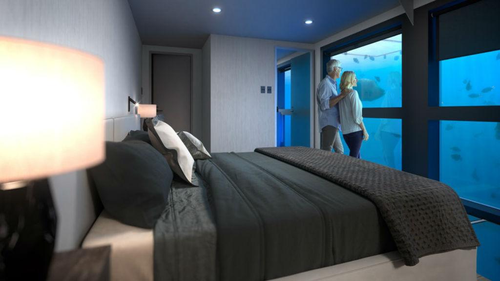 víz alatti hotel