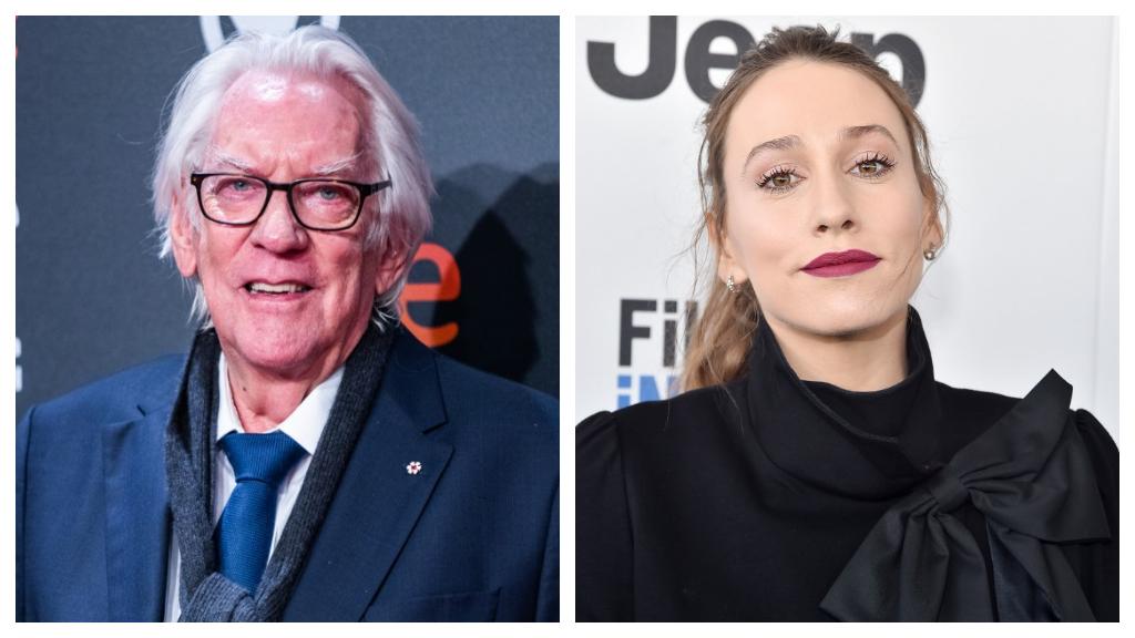 Donald Sutherland unokája Susan is a színész pálya mellett döntött. (Fotók: AFP)