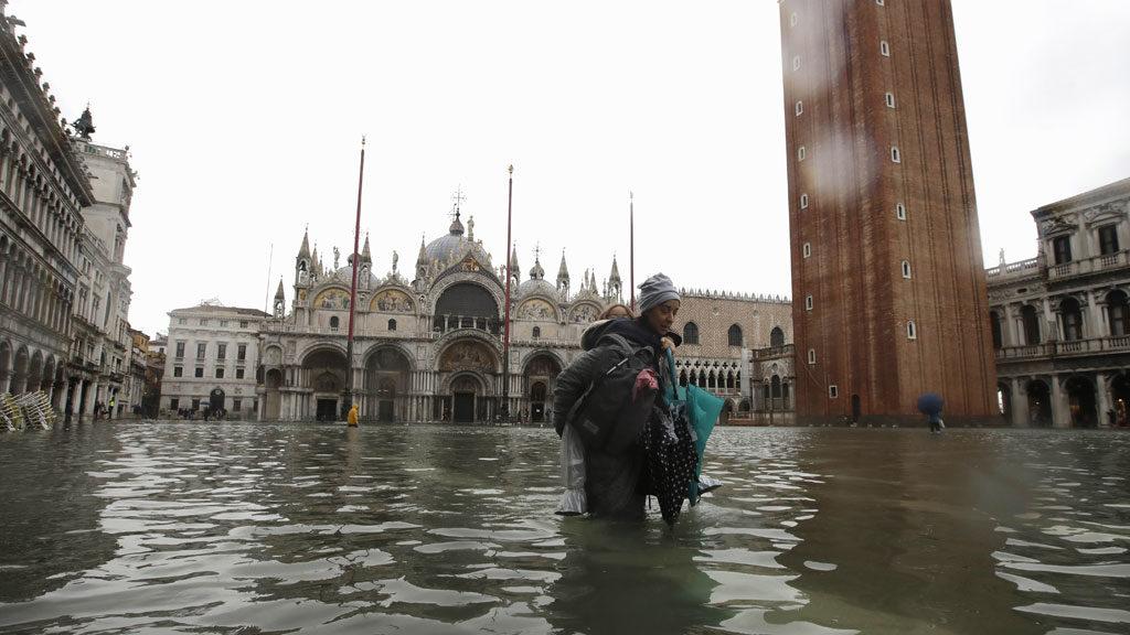 Előbb-utóbb egész Velence víz alá kerül – állítja egy klímakutató