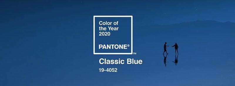 2020 divatszín Pantone 19-4052 klasszikus kék