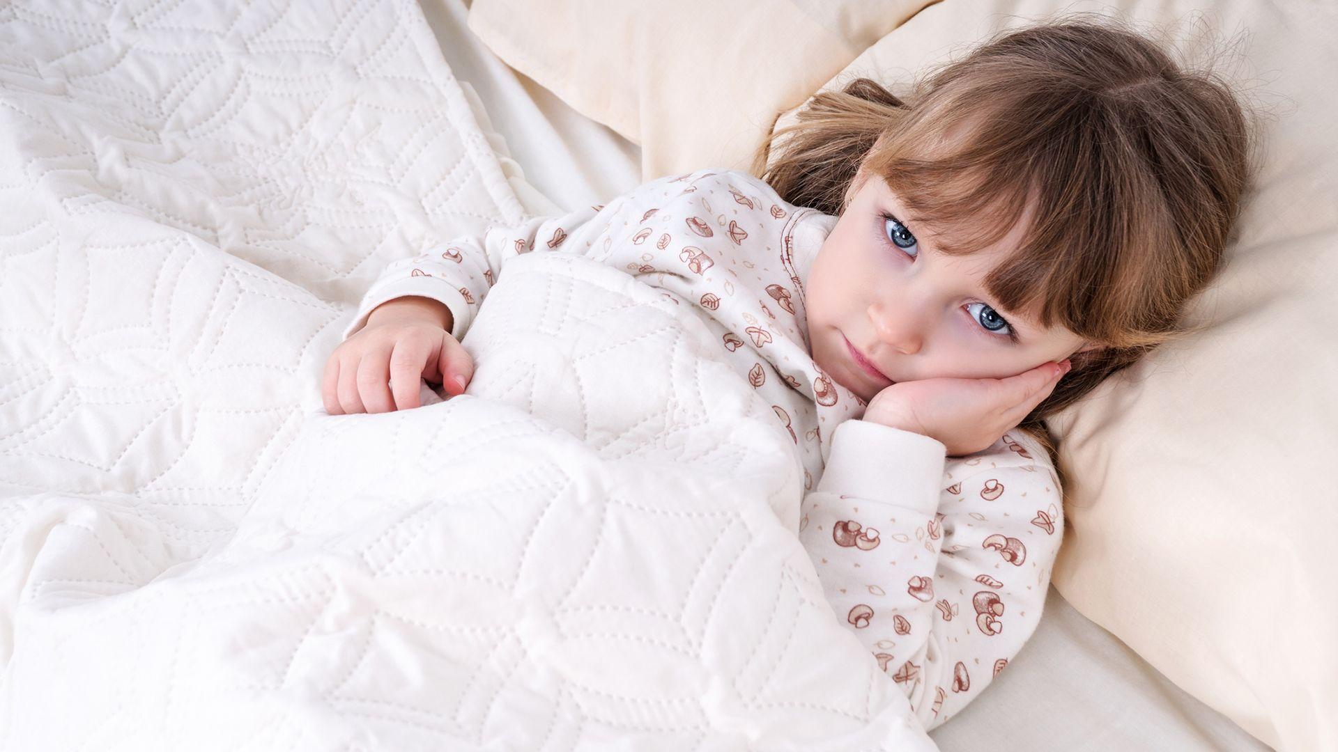beteg kislány