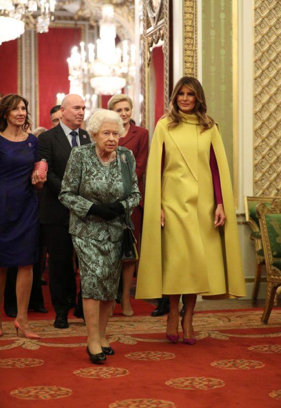 Melania Trump II. Erzsébet