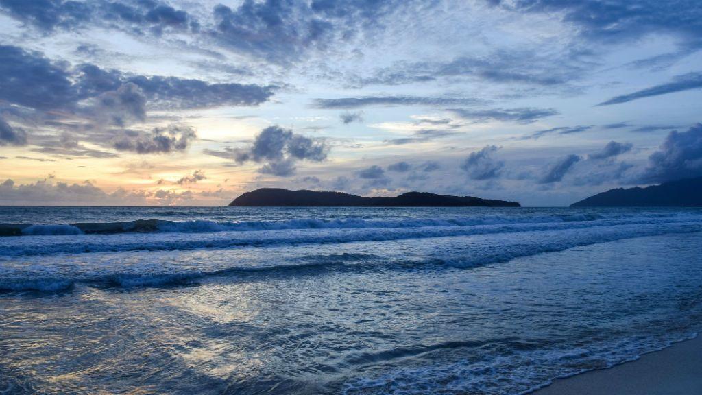 Pantai Tengah Langkawi Malajzia