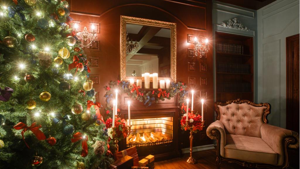 karácsony, karácsonyfa, fenyőfa