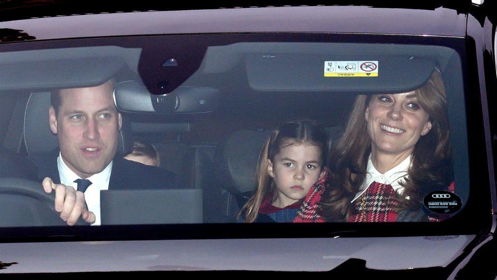 Katalin hercegné Vilmos herceg Sarolta hercegnő karácsonyi ebéd