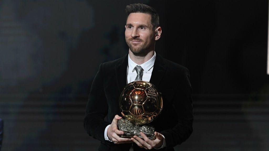 Lionel Messi Aranylabda