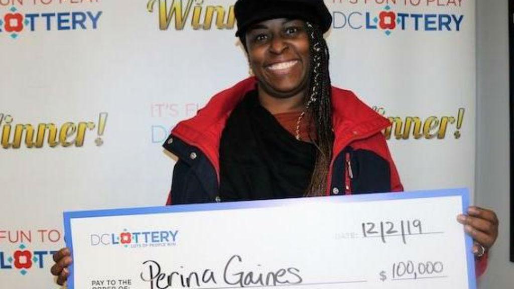 lottónyertes Perina Gaines