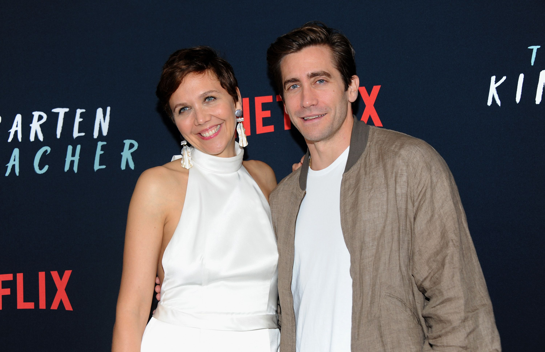 Maggie es Jake Gyllenhaal (fotó: Getty Images)