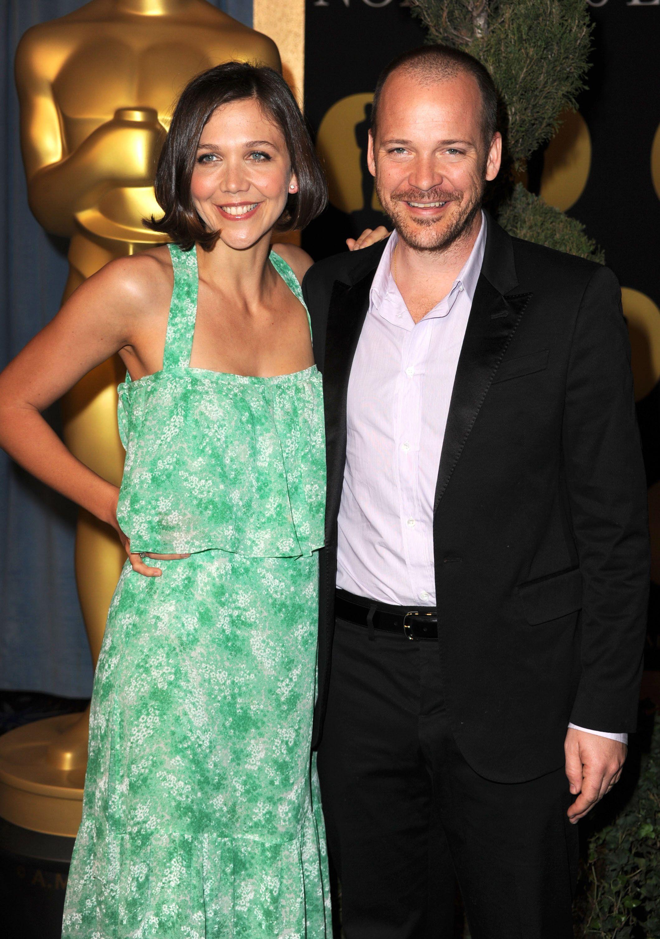 Maggie Gyllenhaal férjével