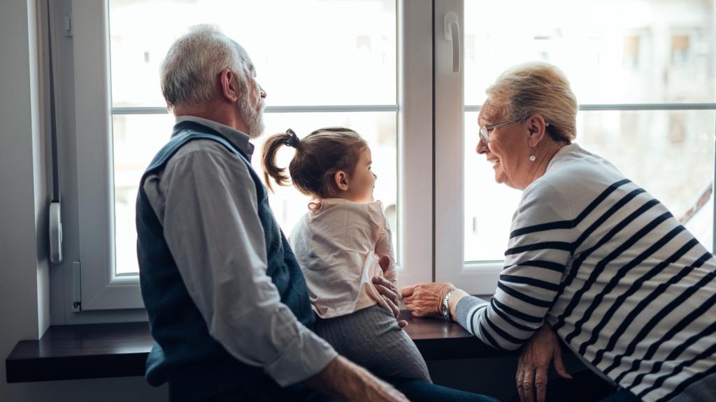 nagyszülő szülők gyerek