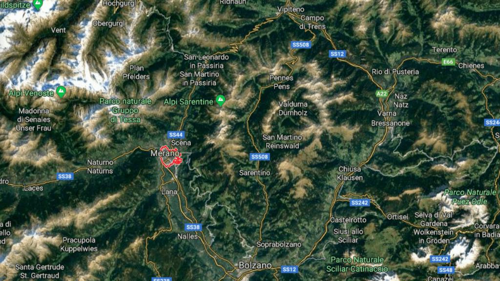lavina olaszország