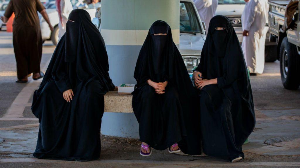 szaúdi nők