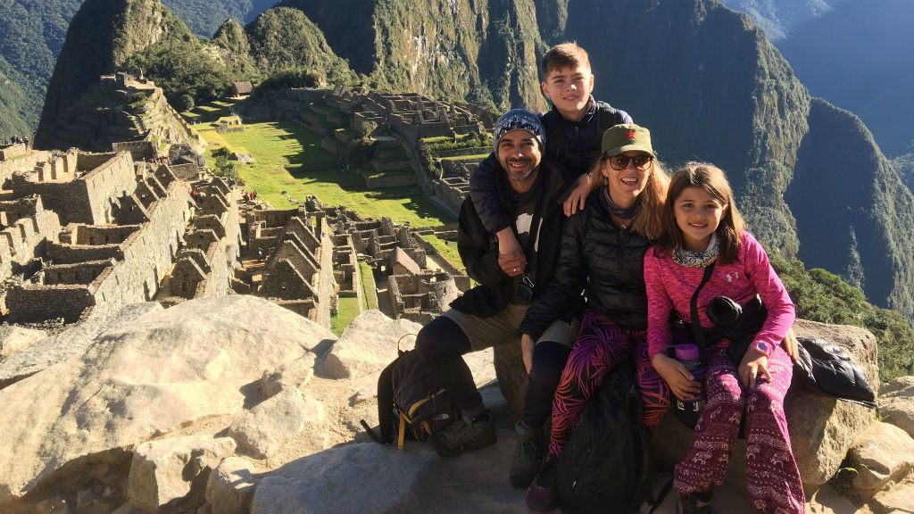 Andre Baldeo világjáró család