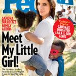 Sandra Bullock People címlap a gyerekeivel