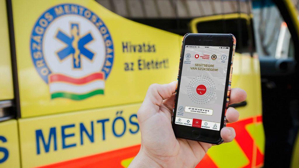 életmentő alkalmazás mentők