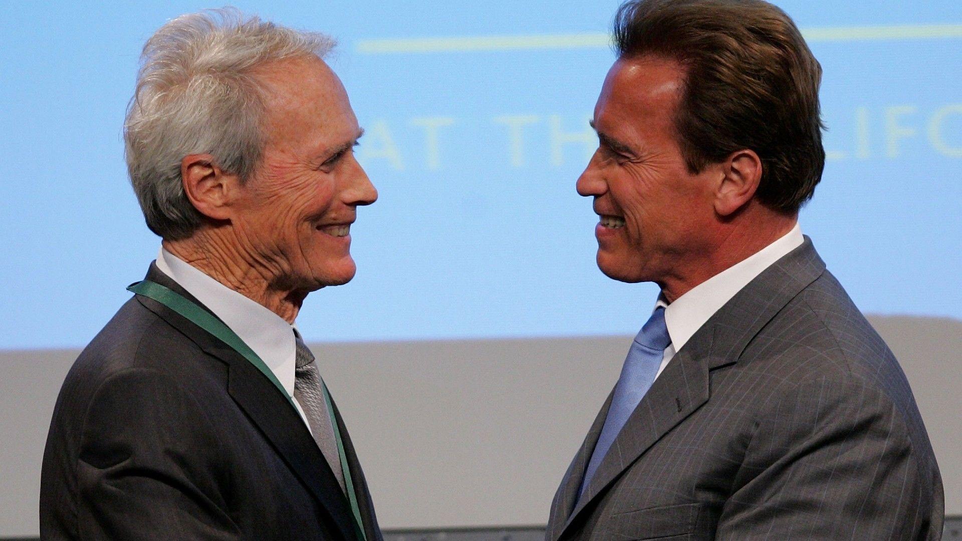 Gruppenszex lehet Schwarzenegger veszte, Schwarzenegger péniszét