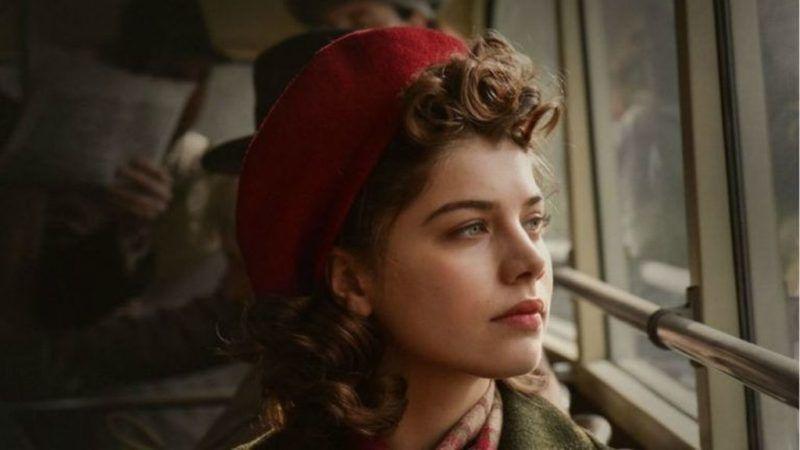 Szőke Abigél az Akik maradtak című filmben (Forrás: Budapest Film)