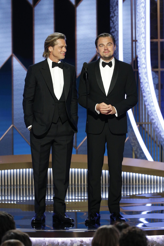 Brad Pitt és Leonardo DiCaprio (Fotó: Getty Images)
