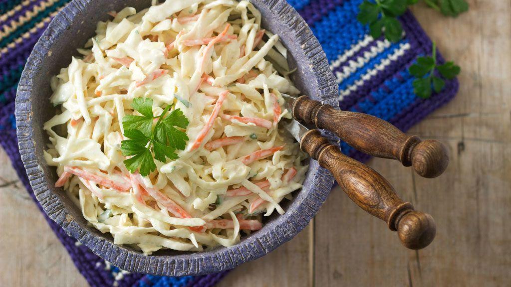 saláták receptek a látáshoz