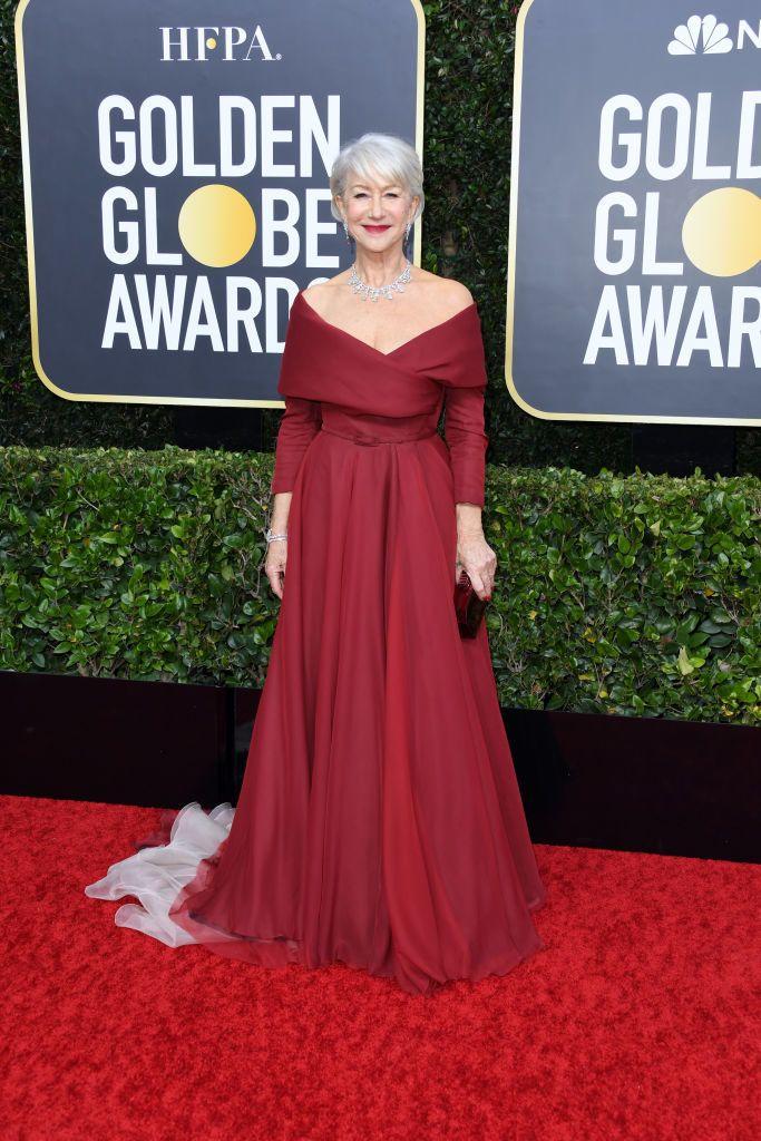 Helen Mirren Golden Globe 2020